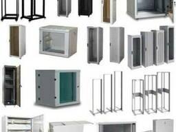 Шкаф Серверный 19 дверь стекло