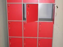 Шкафчики для раздевалки. Детского сада. Камеры хранения