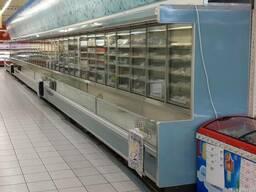 Шкафы-бонеты для выносного холода 25м.