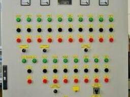 Шкафы управления линией гранулирования на базе прессаОГМ-1,5