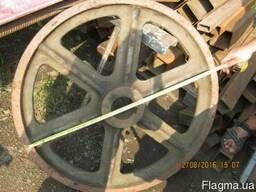 Шкив канатоведущий 4 ручья, диам- 940мм лифтовая лебедка КВШ