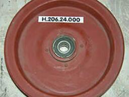 Шкив натяжной привода измельчителя стеблей НИВА Н. 206. 24. 000