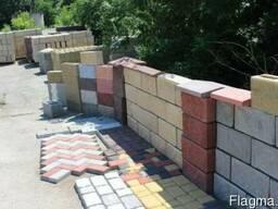 Шлакоблок, блок декоративный, блок заборный от производителя - фото 2