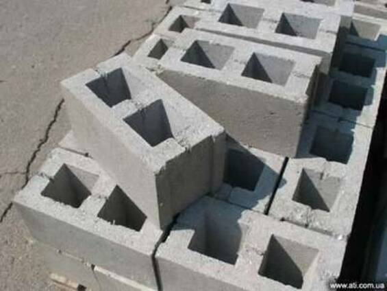 Шлакоблок, кольца бетонные, кирпич, плитка фасадная