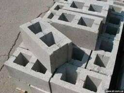 Шлакоблок, кольца бетонные, кирпич, плитка фасадная - фото 1
