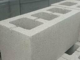 Шлакоблок строительный (Щебневый) 390х190х190мм.