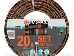 """Шланг Gardena HighFlex 1/2"""" х 20 м фитинги"""