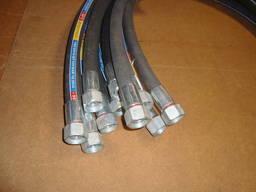 Шланг гидравлический -рукав высокого давления 32 длина 700