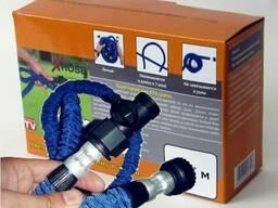 Шланг X-Hose 60 м з водорозпилювачем (садовий шланг Ікс Хоз