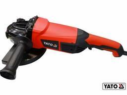Шліфмашина кутова YATO 2400 Вт Ø230 мм 6000 об/хв