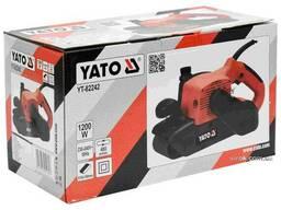 Шліфмашина стрічкова мережева YATO 1200 Вт 100 х 610 мм