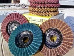 Шлифовальный лепестковый круг скотчбрайт SMT800 Klingspor