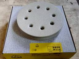 Шлифовальные круги диаметром 180 мм. 8 отверстий PS33