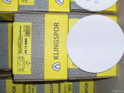 Шлифовальные круги на липучке PS73BWK Klingspor 125 мм