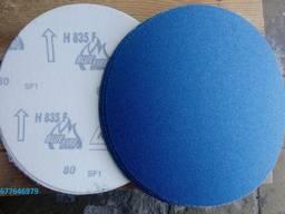 Шлифовальные круги Norton H835 Blue Fire на липучке