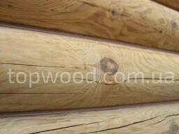 Шлифовка деревянного дома из сруба и бруса - Topwood