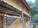 Шлифовка и покраска деревянных домов. - фото 2