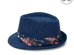 Шляпа Федора темный принт rtPlcz16154darkPrint