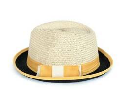 Шляпа Канотье Желтая rtPlcz17223yellow