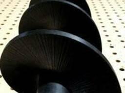 Шнек із сучасного високоміцного композитного матеріалу з ряд