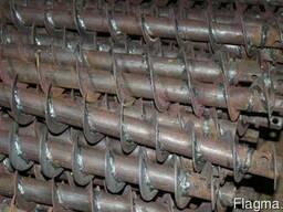 Шнеки d-180, 400 mm, желонки, утяжилители, штанги буровые
