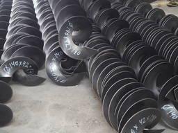 Шнековая спираль, шнеки от производителя, ремонт шнеков