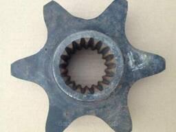Шнековая звездочка на 18 шпицев на ЭЦУ-150, ЭТЦ-1609, бару.