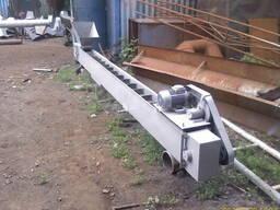 Шнековый и ленточный транспортер для подачи или выгрузки зер - фото 2