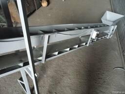Шнековый и ленточный транспортер для подачи или выгрузки зер - фото 5