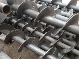 Шнековый конвейер в трубе и в желобе производство , шнеки
