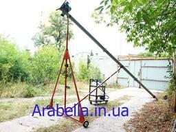 Шнековый погрузчик (конвейер) транспортер, зернометатель