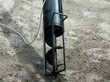 Шнековый транспортёр (погрузчик) в трубе 220 мм. длинной 6 м - фото 2