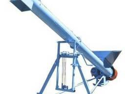 Шнековый зернозагрузчик зернометатель зерномёт транспортёр - photo 2