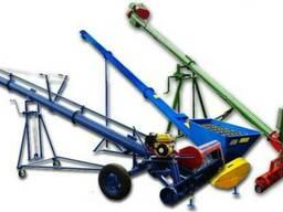 Шнек разгрузчик погрузчик зернометатель транспортер 1-300т/ч