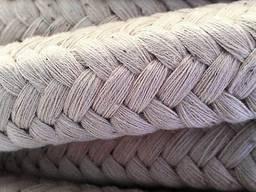 Шнур асбестовый для уплотнений дверцы камина (каминный)