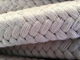 Шнур асбестовый квадратного сечения диаметром 50 мм
