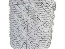 Шнур капроновый d 10 мм разрывная нагрузка - 2300 кг