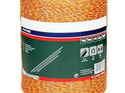 Шнур-плетенка (3-х жильная бечевка) для электропастуха, 1000