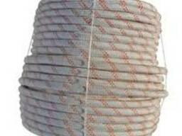 ШНУР плетеный капроновый d 12 мм (разрыв 2300 кг)