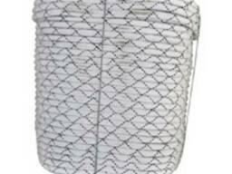 Шнур плетеный капроновый d 10 мм (разрыв 1800 кг)