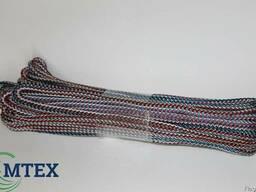 Шнур полипропиленовый вязаный диаметр 3,5мм. 10 метров.