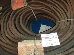 Шнур резиновый 2 М 12х16 ГОСТ 6467-79, 15кг