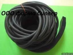 Шнур резиновый уплотнительный вакуумный, шнур пористый
