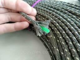 Шнур рыболовный 5мм, длина 200м, жесткий