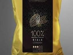 Шоколад белый 28 %, натуральный бельгийский Blanche