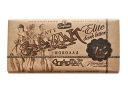 Шоколад Горький Элитный 72% содержания какао