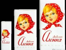 "Шоколад ""Любимая Аленка"""