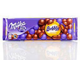 Шоколад Milka Bubbly Caramel пористый молочный с. ..