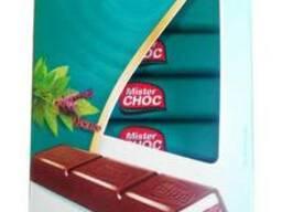 Шоколад Mister Choc с мятой Peppermint Creme 200г