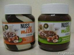 Шоколадная паста Nuss Milk, 400 мл.